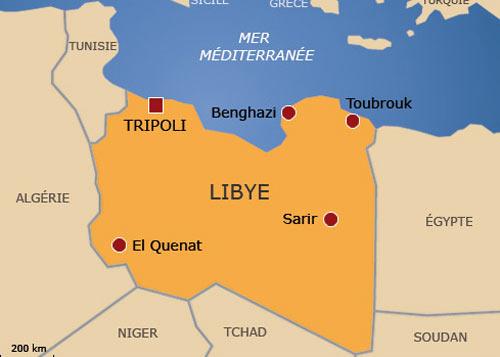 Faktyczny Podzial Libii Mapa Kresy