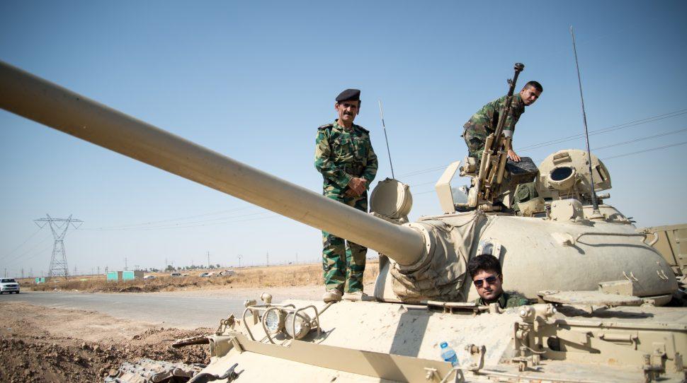 Doszło do starć pomiędzy siłami Iraku i kurdyjskich bojowników