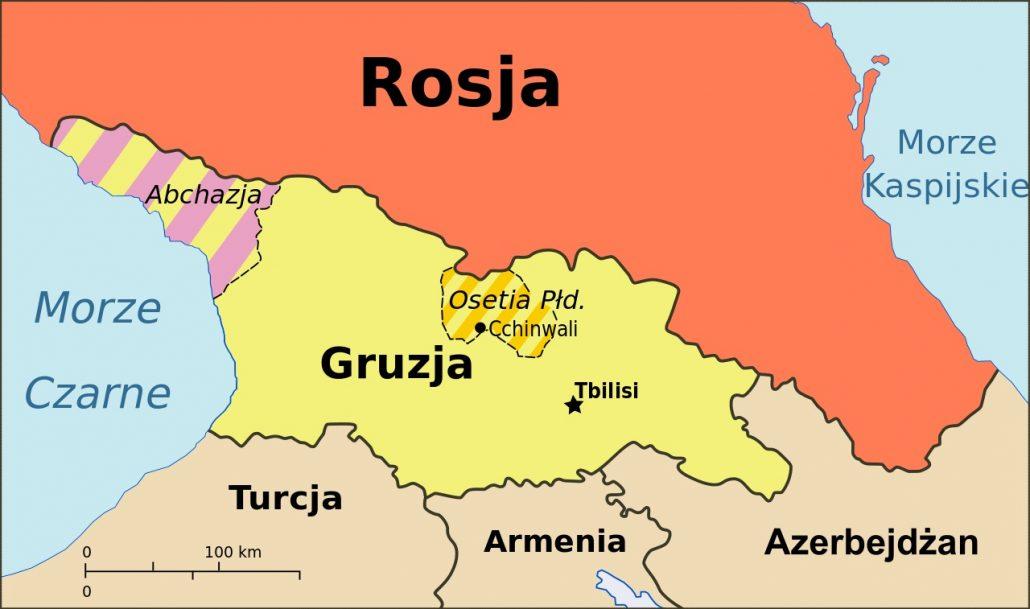 Gruzja Wysepka Stabilnosci Miedzy Rosja A Turcja Kresy