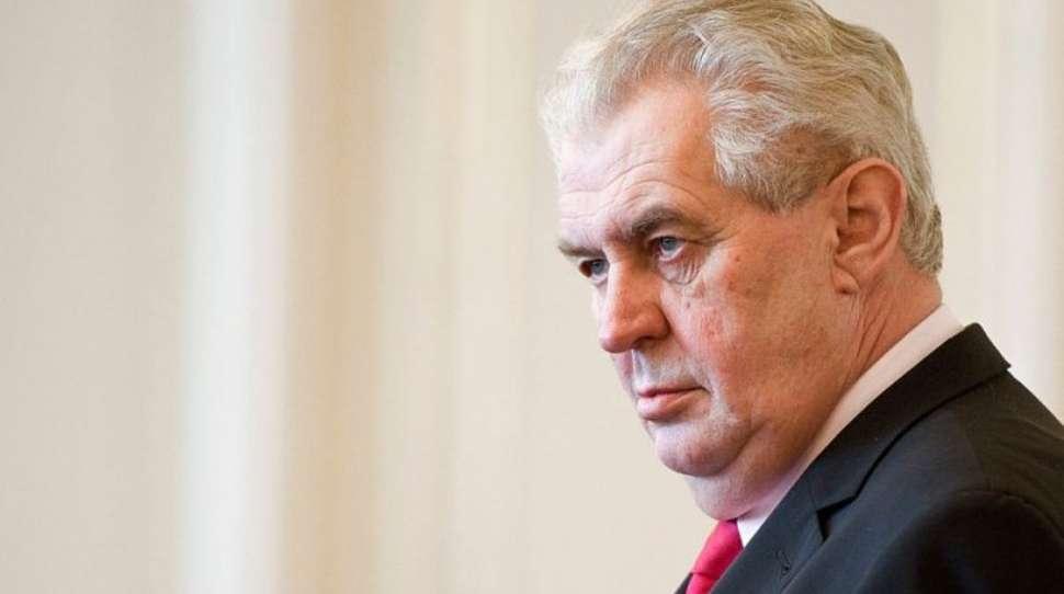 obrony i bezpieczeństwa zemana prezydent czech