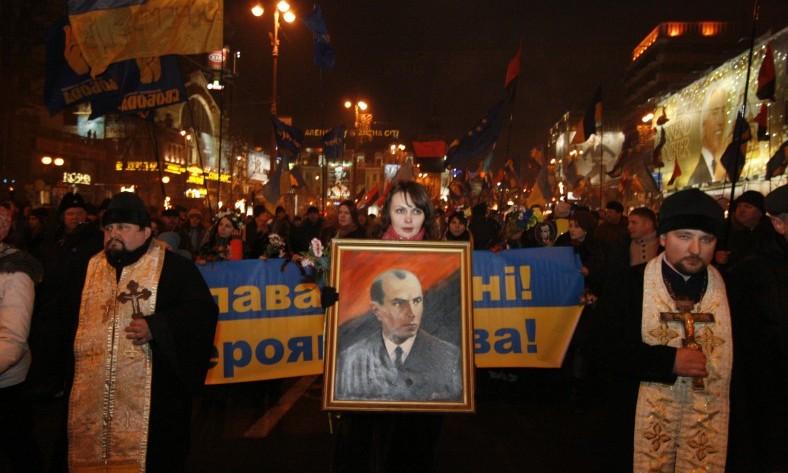 Znalezione obrazy dla zapytania Stepan Bandera. Życie ziemskie i pośmiertne ukraińskiego nacjonalisty