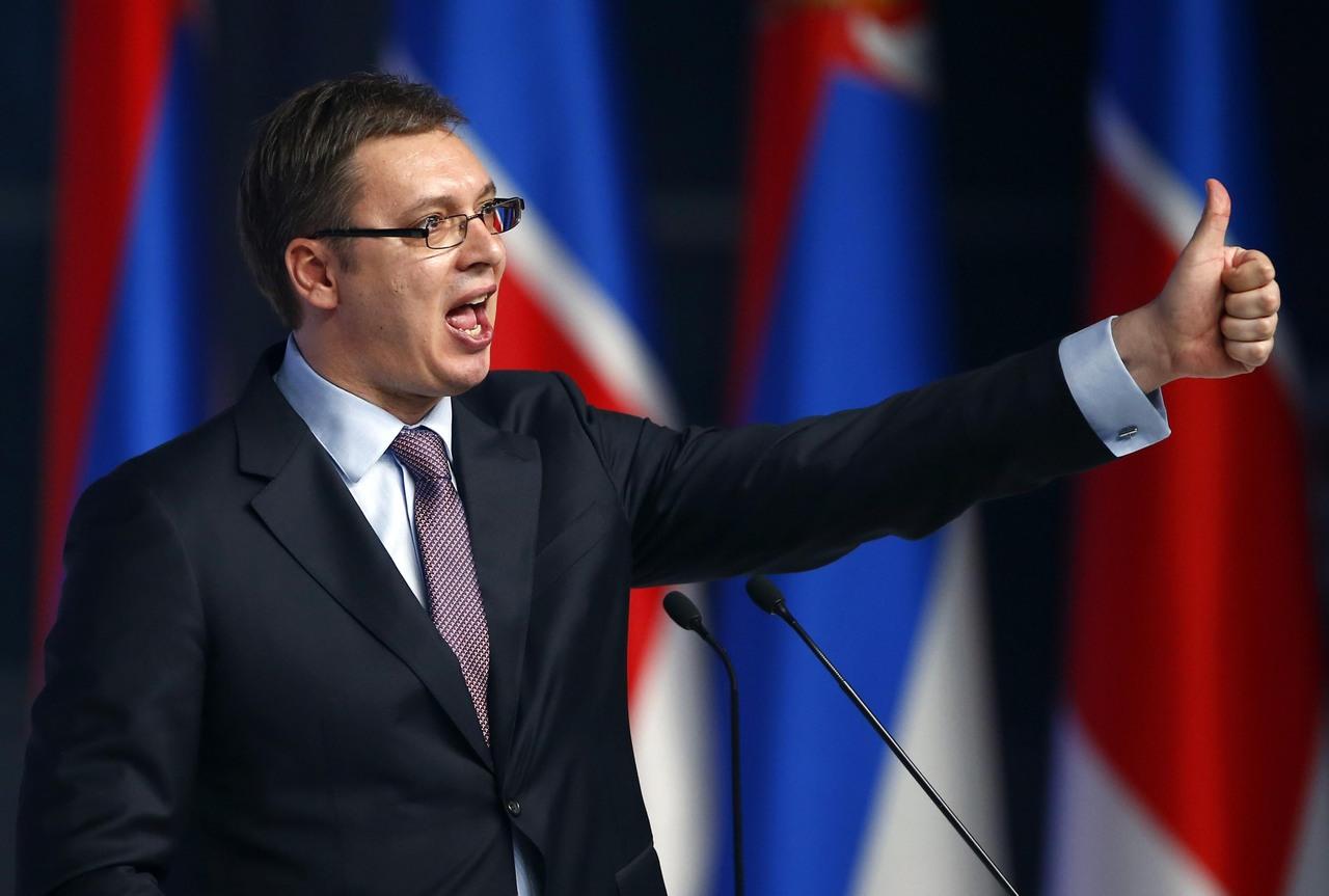 Вучич вступил вдолжность президента Сербии