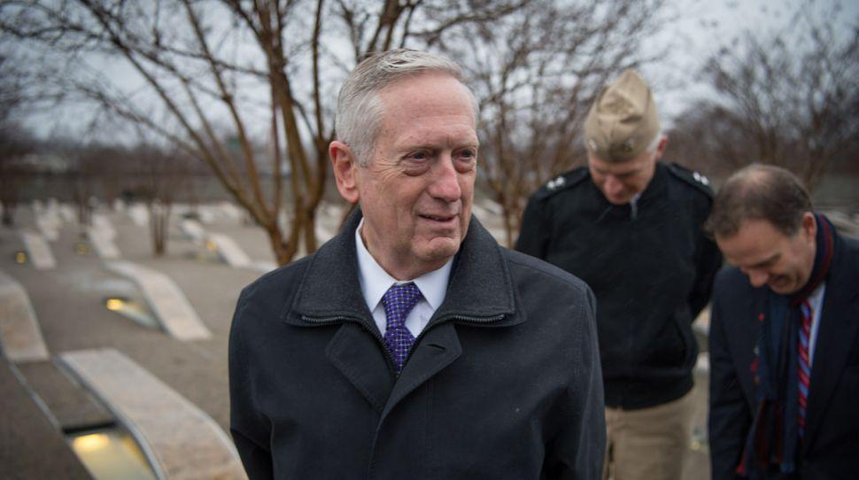 Szef Pentagonu James Mattis / defense.gov