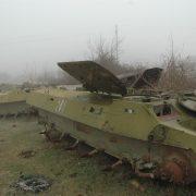 Wraki zalegające w Górskim Karabachu, foto: wikimedia.org