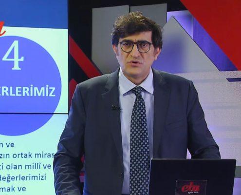 Alpaslan Durmus ogłaszający wycofanie z programów teorii ewolucji, foto: eba.gov.tr
