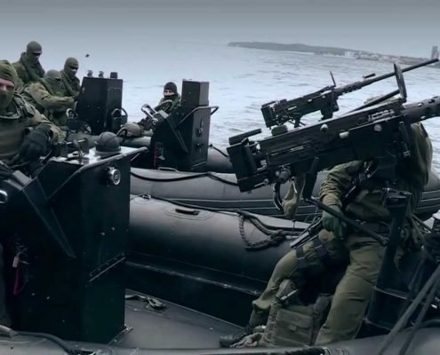 Ćwiczenia polskich żołnierzy z Formozy, foto: youtube.com