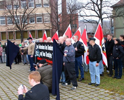 Manifestacja NPD której Bundestag chce odebrać dotacje, foto: flickr.com