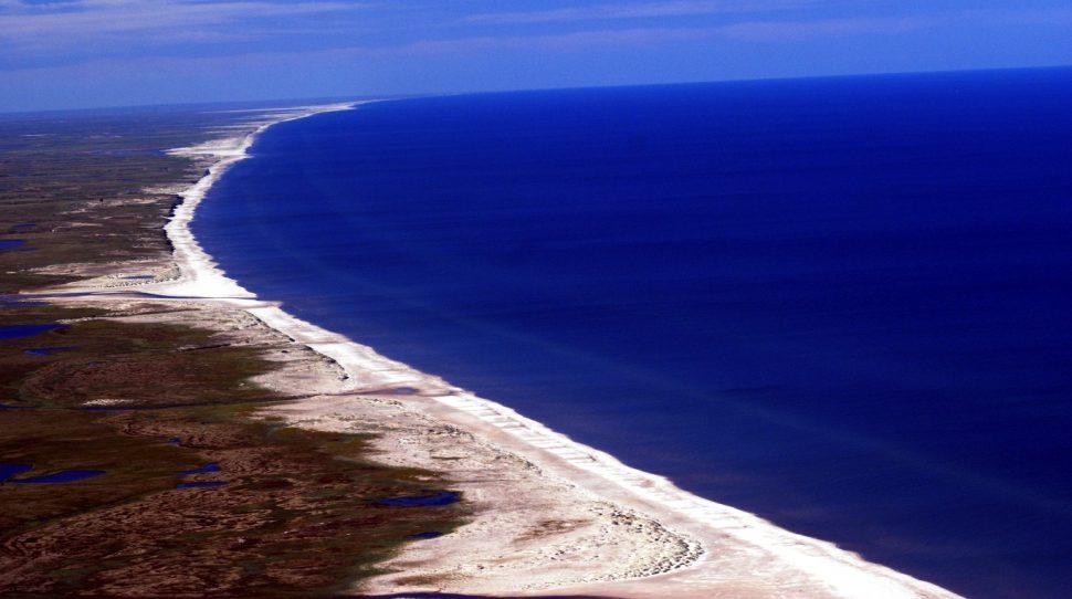 Morze Barentsa na którym powstaną sztuczne wyspy, foto: wikimedia.org