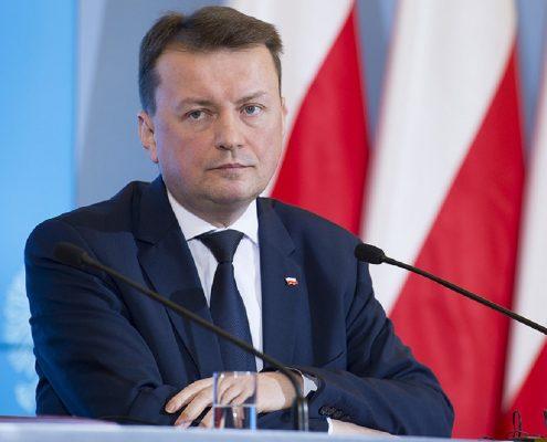 Blaszczak tłumaczy, że mały ruch graniczny nie został przywrócony z powodu rosyjskiejpolityki