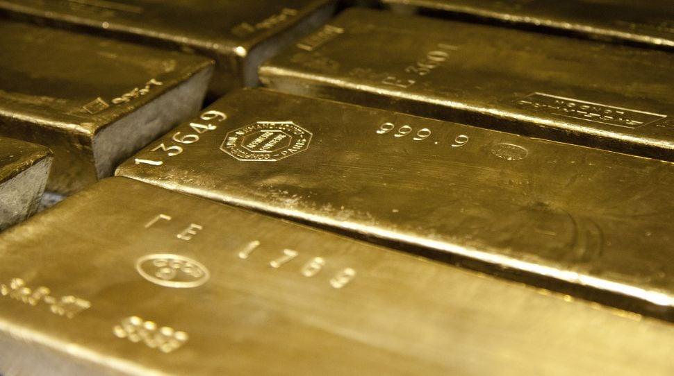 ropy Sztabki złota, foto: wikimedia.org