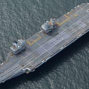 Nowy brytyjski lotniskowiec HMS Queen Elizabeth
