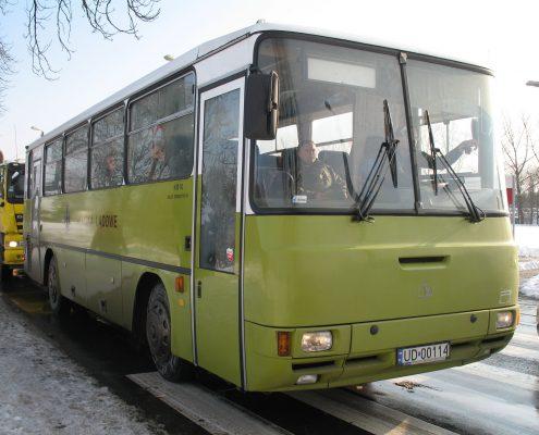 Autokar dla wojska wyprodukoany przez Autosan