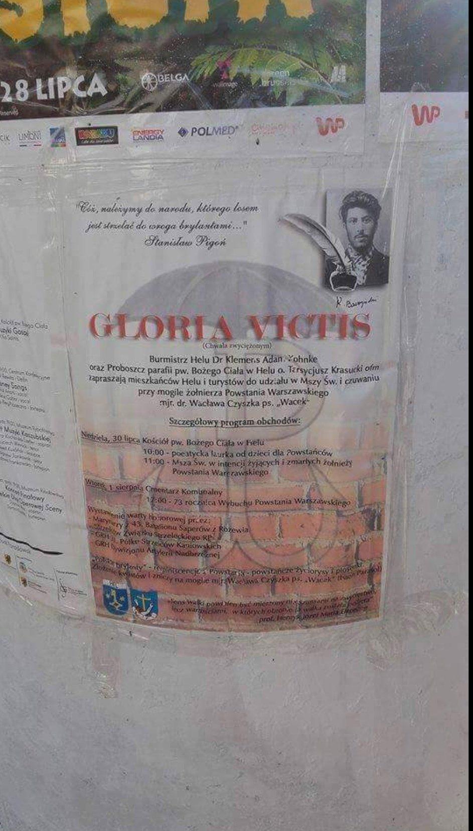 Józef Stalin zamiast Krzysztofa Kamila Baczyńskiego