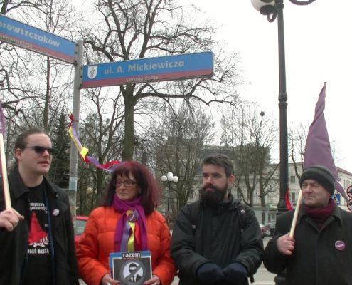 Partia Razem broni podlegającej ustawie dekomunizacyjnej ulicy Dąbrowszczaków