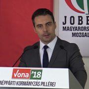 Szef opozycyjnej prawicowej partii Jobbik Gábor Vona