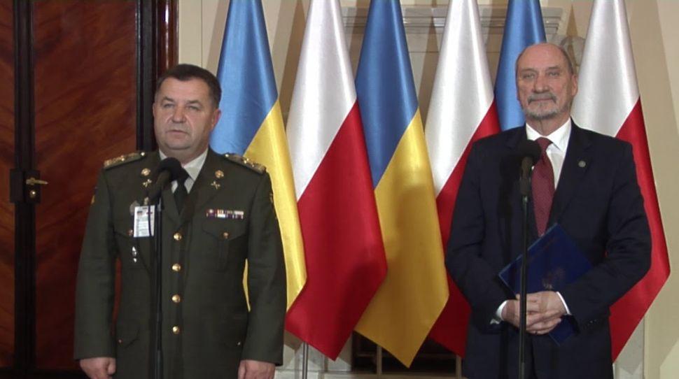 Polskie ministerstwo obrony chce zbroić ukraińską armię