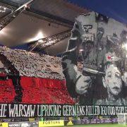Oprawa meczu Legia Warszawa - FK Astana