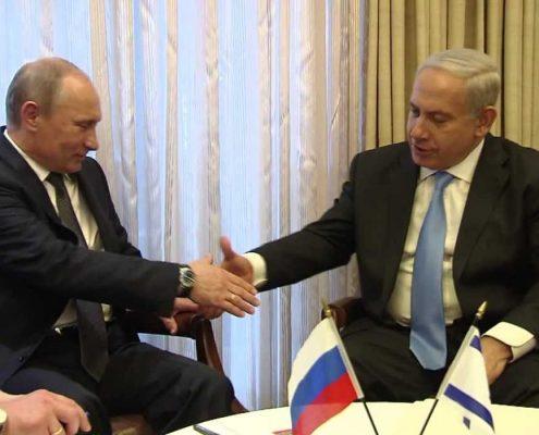Prezydent Rosji i premier Izraela