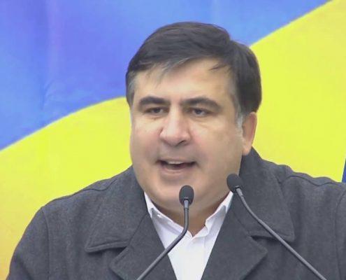 Ukraina: Na granicy z Polską gromadzą się zwolennicy i przeciwnicy Saakaszwilego