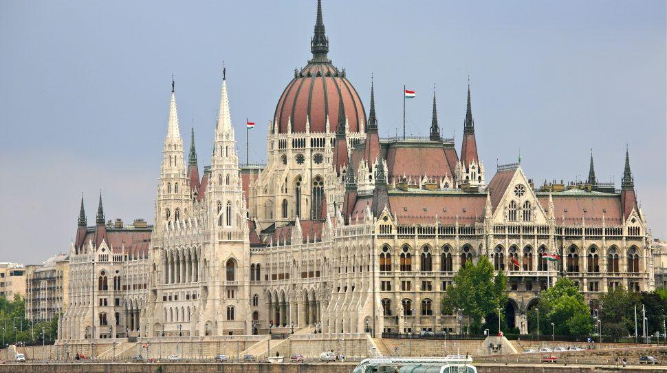 konstytucji Budynek węgierskiego parlamentu Schulza