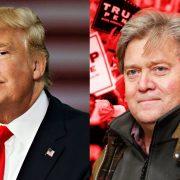 Donald Trump i Steve Bannon prasa