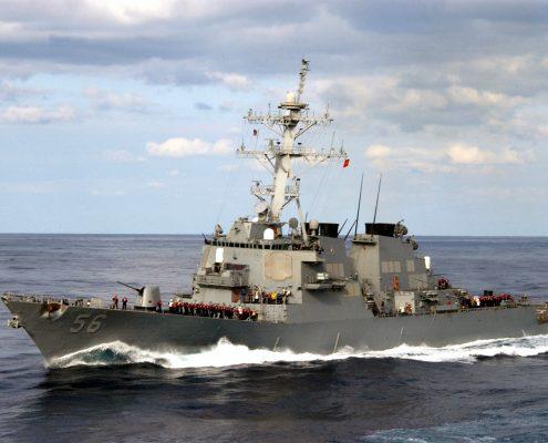 Niszczyciel USA USS John S. McCain