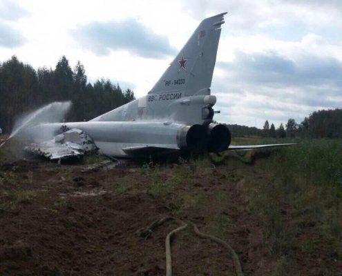 Poważny wpadek rosyjskiego bombowca strategicznego podczas manewrów Zapad-2017