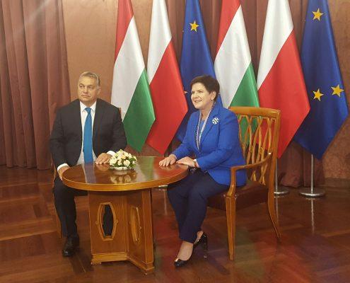 Orban: jesteśmy z Polską strażnikami traktatów Unii Europejskiej