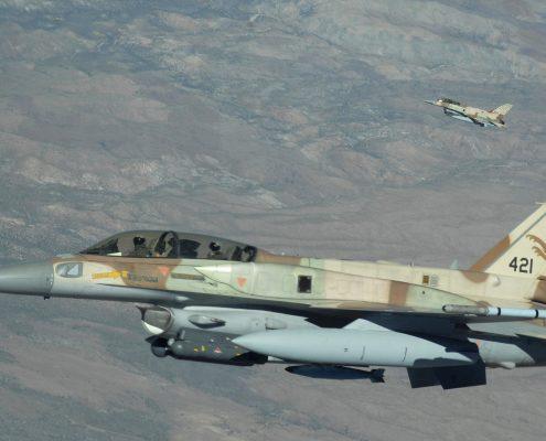 Syria: Izraelskie samoloty uderzyły w pobliżu lotniska w Damaszku
