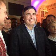 Wiec Micheila Saakaszwilego we Lwowie [+VIDEO]