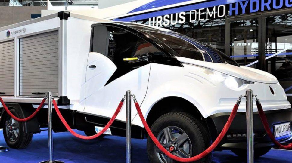 Samochód elektryczny Ursusa