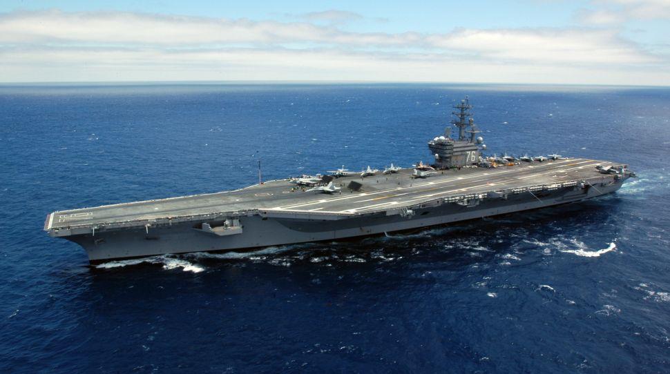 Lotniskowiec USS Ronald Reagan