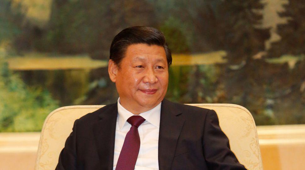 pasa i szlaku Prezydent Chin Xi Jinping