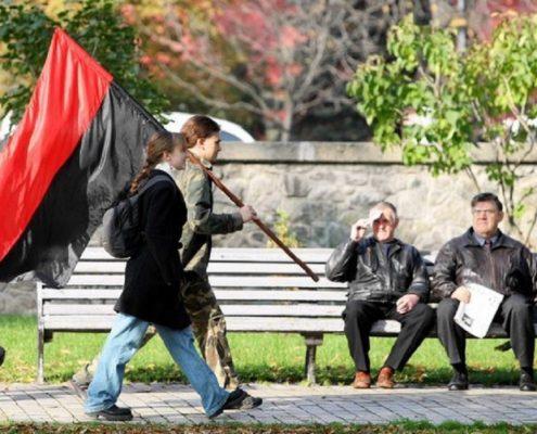 miasta partnerskiego Duży wzrost poparcia dla OUN-UPA na Ukrainie 5 lutego neobanderowcy będą pikietować polskie placówki dyplomatyczne na Ukrainie