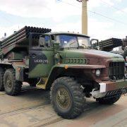 Ukraińska armia oskarża: separatyści znowu używają Gradów