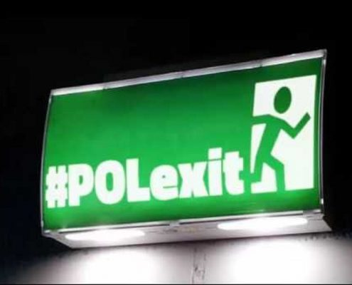Bloomberg obawia się Polexitu