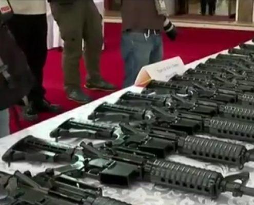 Chiny podarowały Filipinom 3000 karabinów w geście dobrej woli