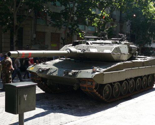 Rząd w Madrycie wysyła wojsko do Katalonii
