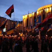 Swoboda chce wywieszania banderowskich flag na budynkach w Kijowie