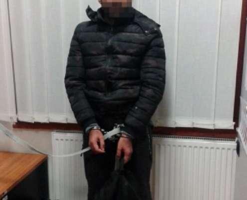 Zatrzymany Atif Z., pakistański rzeźnik, foto: police.hu
