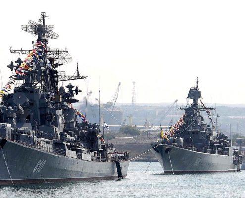 Rosjanie wysłali okręty na Filipiny aby pomóc w walce z dżihadystyczną rebelią