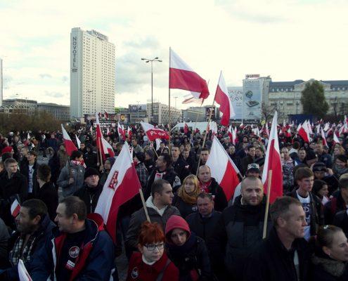 Koalicja Antyfaszystowska zapowiedziała blokadę tegorocznego Marszu Niepodległości
