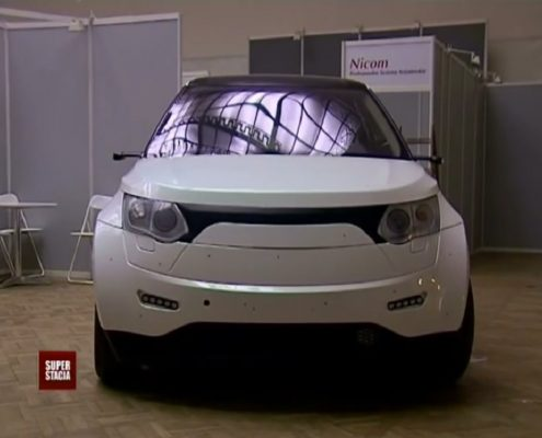 Samochód elektryczny ELV001