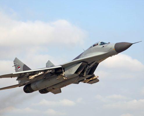 Rosja przekazała nieodpłatnie Serbii myśliwce MiG-29