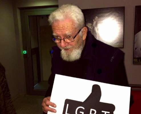 Ks. Adam Boniecki promuje akcje LGTB, foto: facebook.com