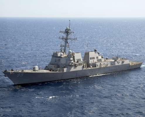 Amerykański niszczyciel USS James E. Williams, foto: flickr.com