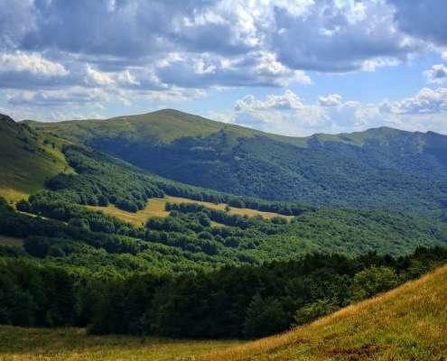 Bieszczady: odkryto najwyżej położony w Polsce szaniec z czasów konfederacji barskiej
