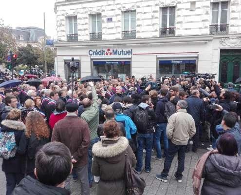 Francja: Protest przeciw ulicznym modłom muzułmanów [+VIDEO]