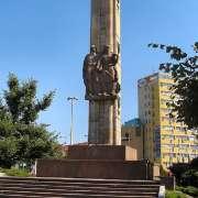 Szczecin: rozbiórka Pomnika Wdzięczności dla Armii Czerwonej [+VIDEO]