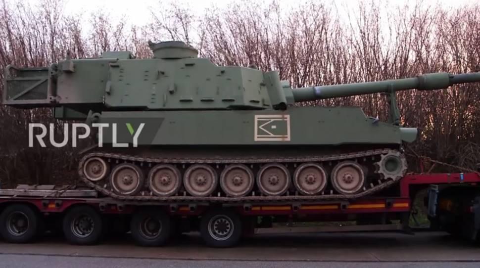 Niemiecka drogówka zatrzymała transport wojsk USA z Polski [+VIDEO]